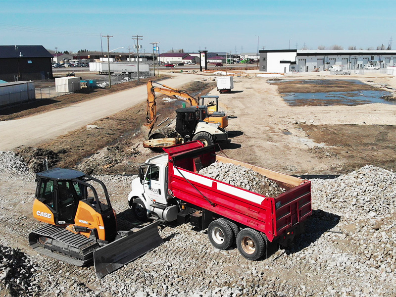 Winning excavation and leveling company